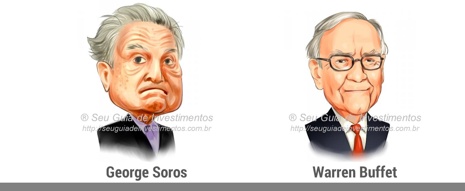 Como ficar rico investindo - George Soros e Warren Buffet - Investidores de sucesso - Seu Guia de Investimentos