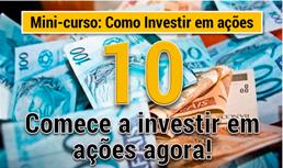 Como Investir em ações - Mini Curso 10 - Comece a investir em ações agora - destacada 2